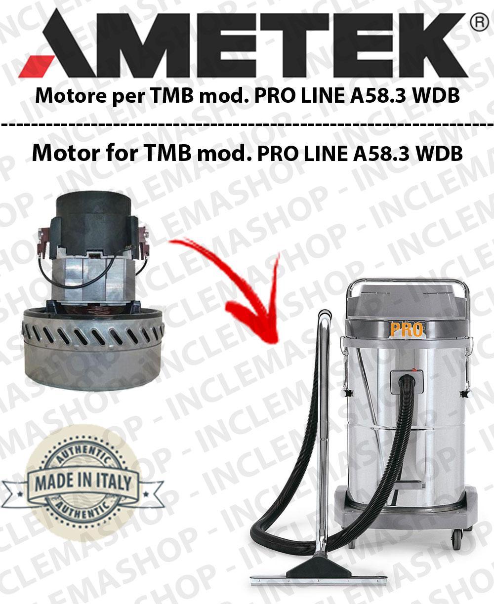 PRO LINE A58.3 WDB Saugmotor AMETEK für Staubsauger und trockensauger TMB