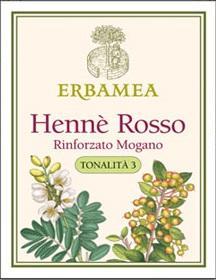 HENNE' ROSSO RINFORZATO MOGANO-TONALITA'3- 100gr
