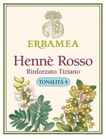 Hennè Erbamea Rosso Rinforzato Tiziano