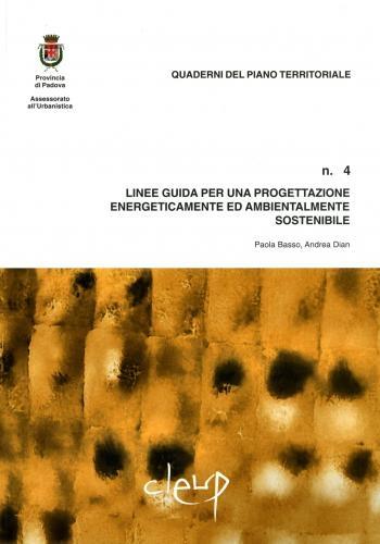 Linee guida per una progettazione energeticamente ed ambientalmente sostenibile - n.4
