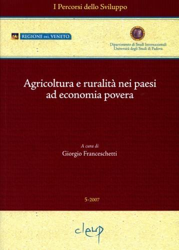 Agricoltura e ruralità nei paesi ad economia povera