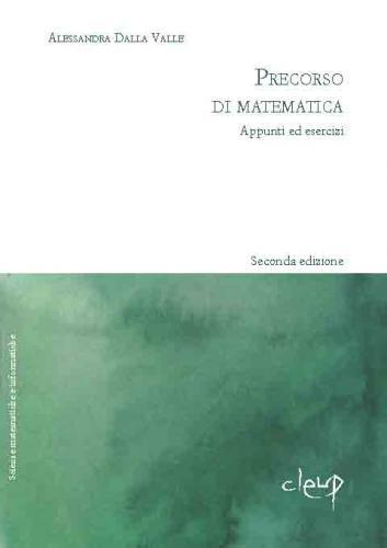 Precorso di matematica