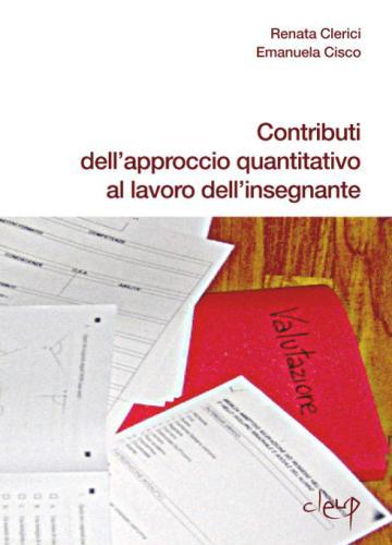 Contributi dell'approccio quantitativo al lavoro dell'insegnante