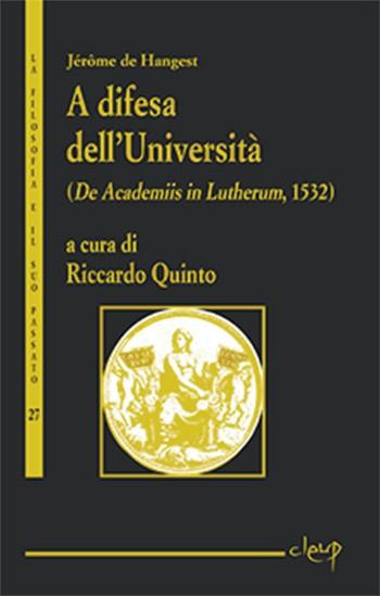 A difesa dell'Università