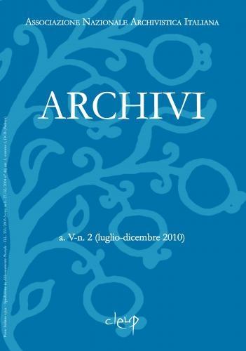 Archivi a.V n.2 (luglio-dicembre 2010)