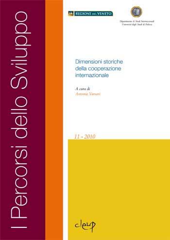 Dimensioni storiche della cooperazione internazionale