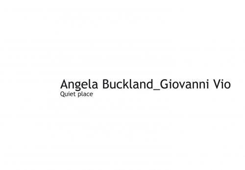 Angela Buckland_GIovanni Vio. Quiet Place