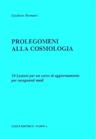 Prolegomeni alla cosmologia