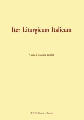 Iter Liturgicum Italicum
