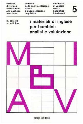 I materiali di inglese per bambini: analisi e valutazione