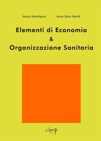 Elementi di Economia & Organizzazione Sanitaria