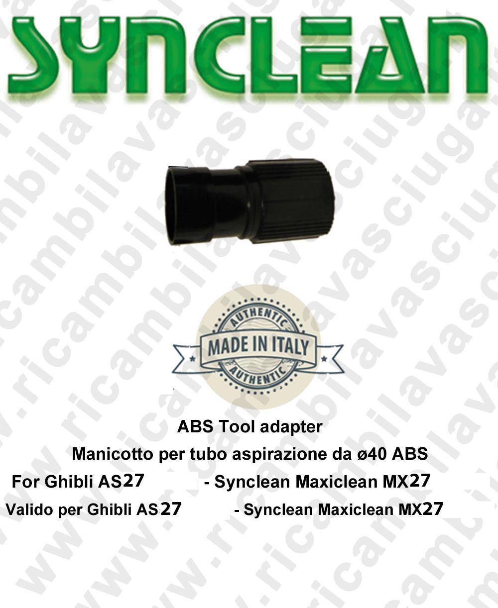 Schlauch für Rohr Aspiration von ø40 ABS SYNCLEAN für scheuersaugmaschinen Ghibli AS27 - Synclean MX27