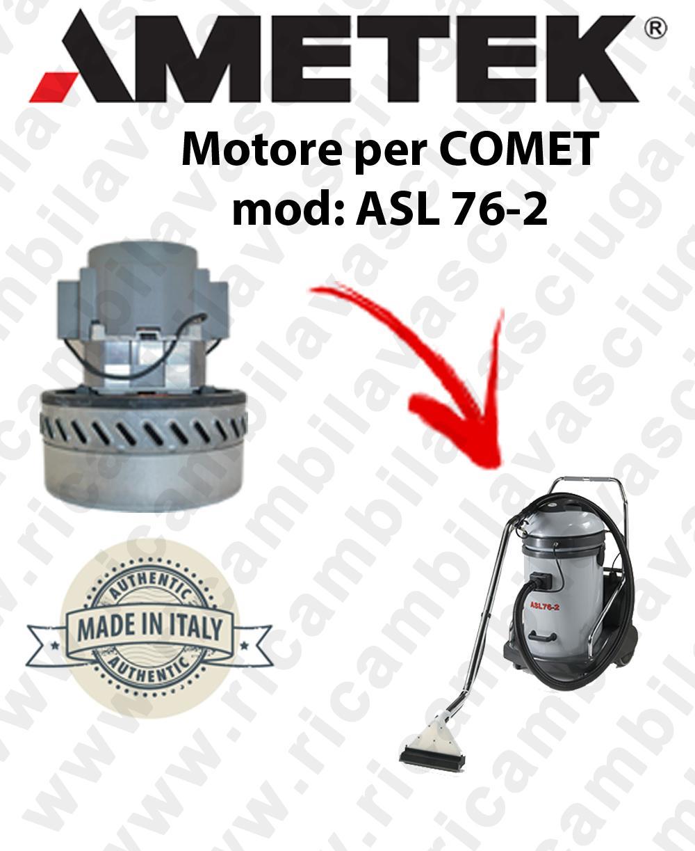 ASL 76-2 Motore aspirazione  AMETEK ITALIA per aspiraliquidi COMET