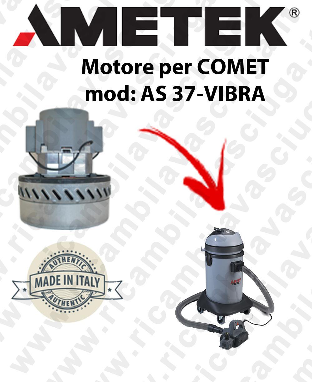 AS 77 -B2 moteur aspiration  AMETEK ITALIA pour aspirateur à eau COMET