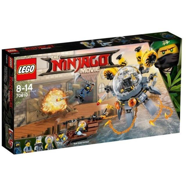 LEGO NINJAGO SOTTOMARINO FLYING JELLY  70610