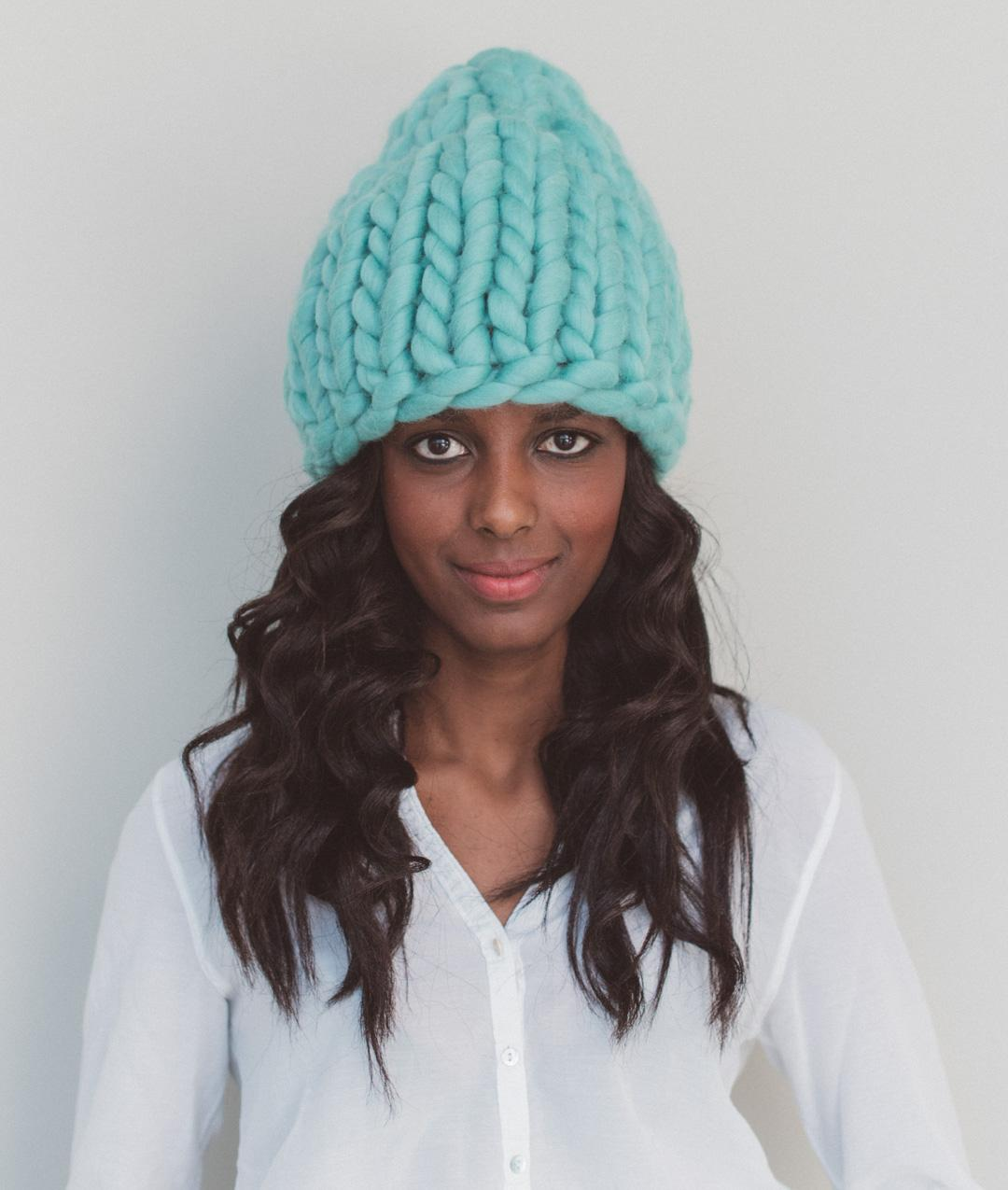 Giant Wool Knit Collection - ARM & GIANT KNITTING - The Hat - 1