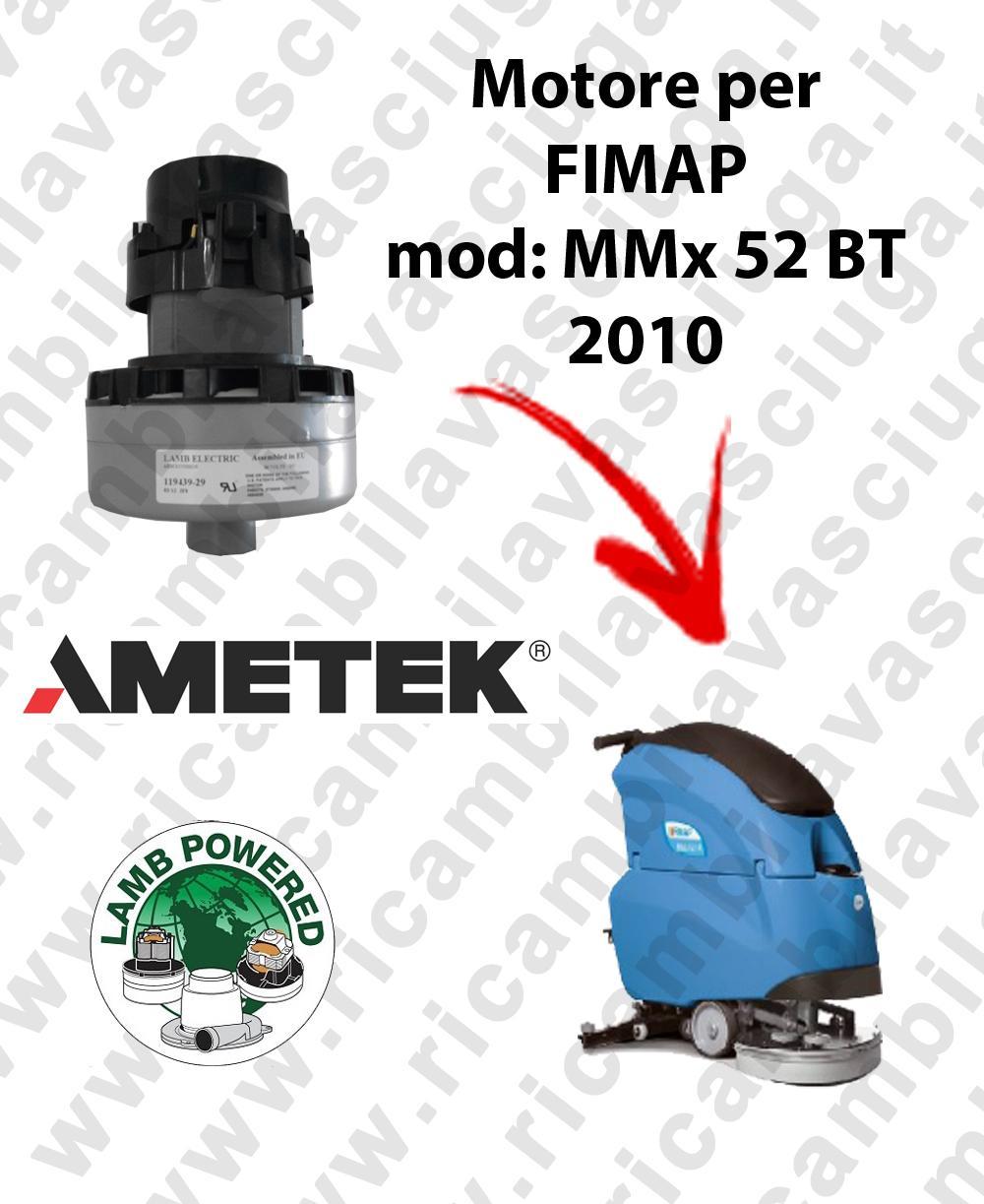 MMX 52 B-BT Ed. 2010 Saugmotor LAMB AMETEK für scheuersaugmaschinen FIMAP
