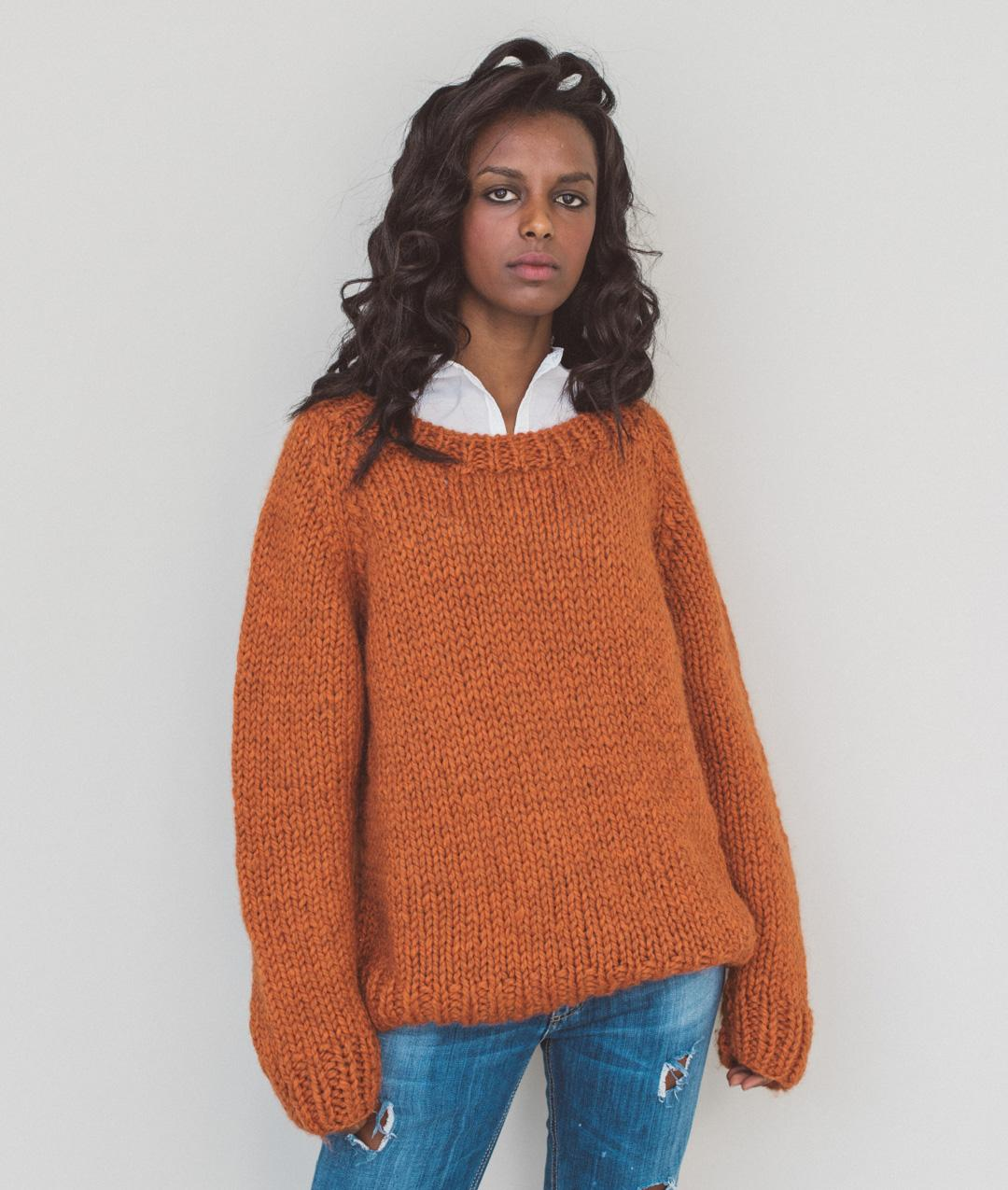 Wool  - Kits - BOYFRIEND SWEATER - 1