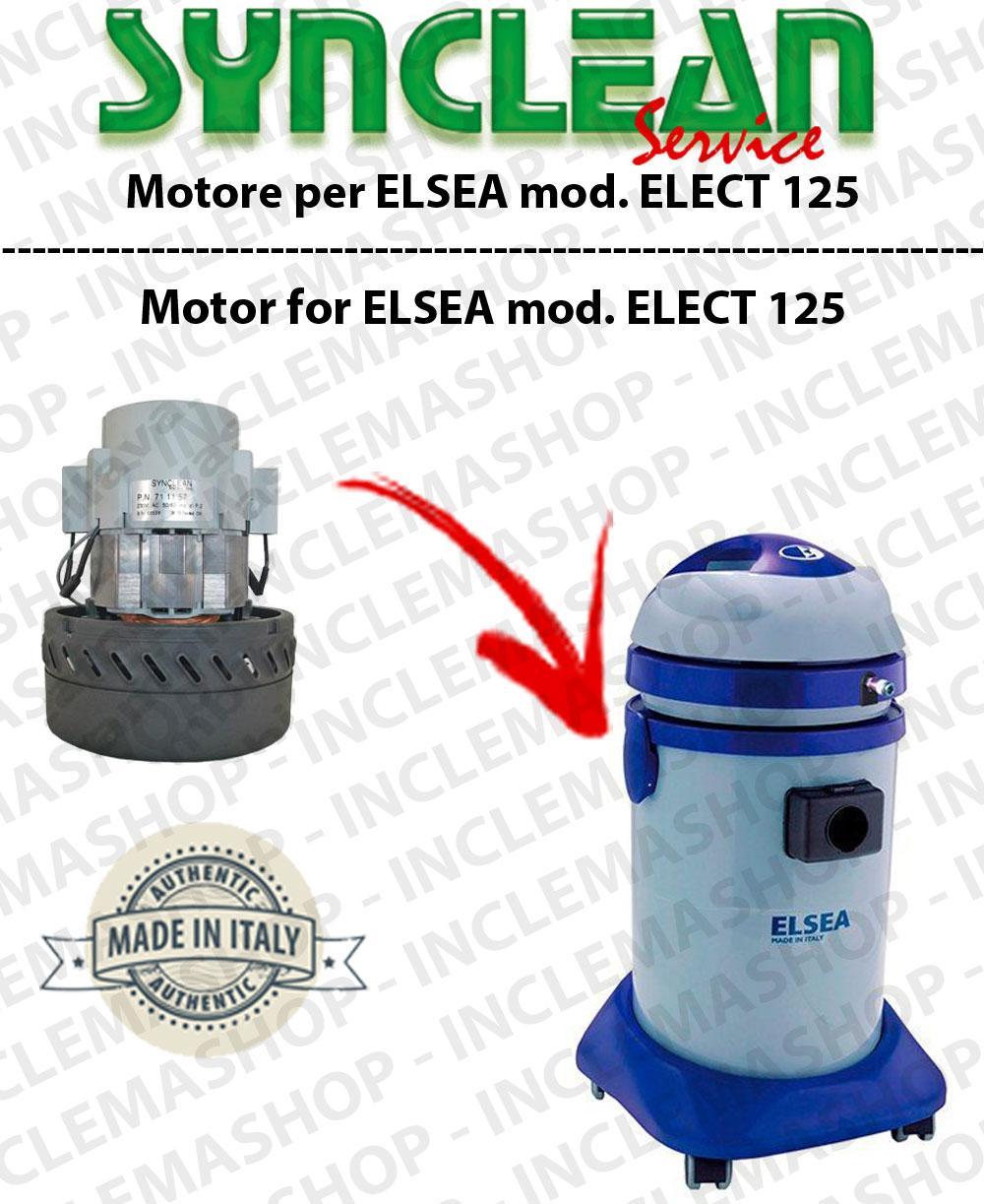 ELECT 125  MOTORE ASPIRAZIONE  per aspirapolvere ELSEA