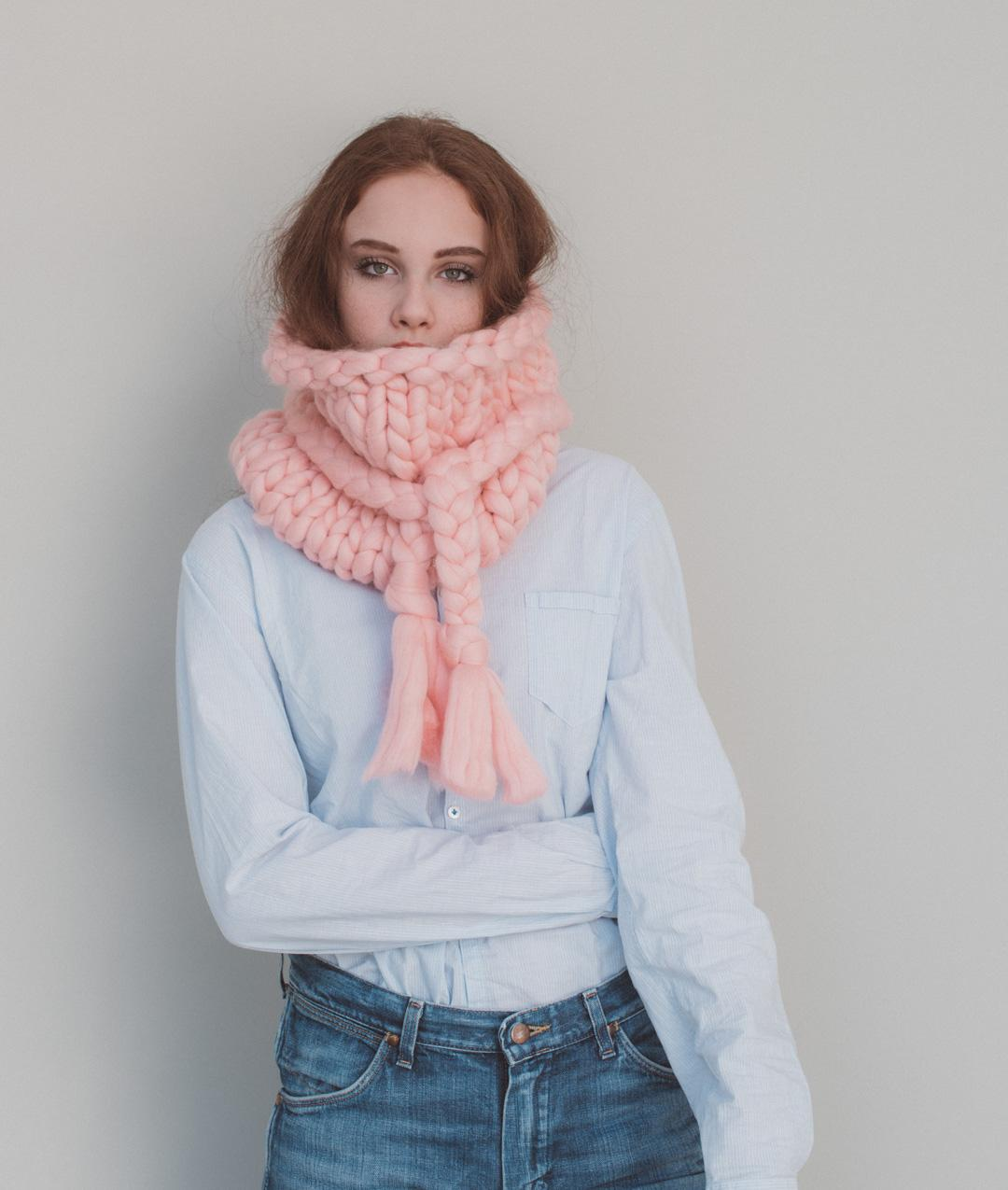 Collezione Giant Wool Knit - ARM E GIANT KNITTING - THE SNOOD - 1