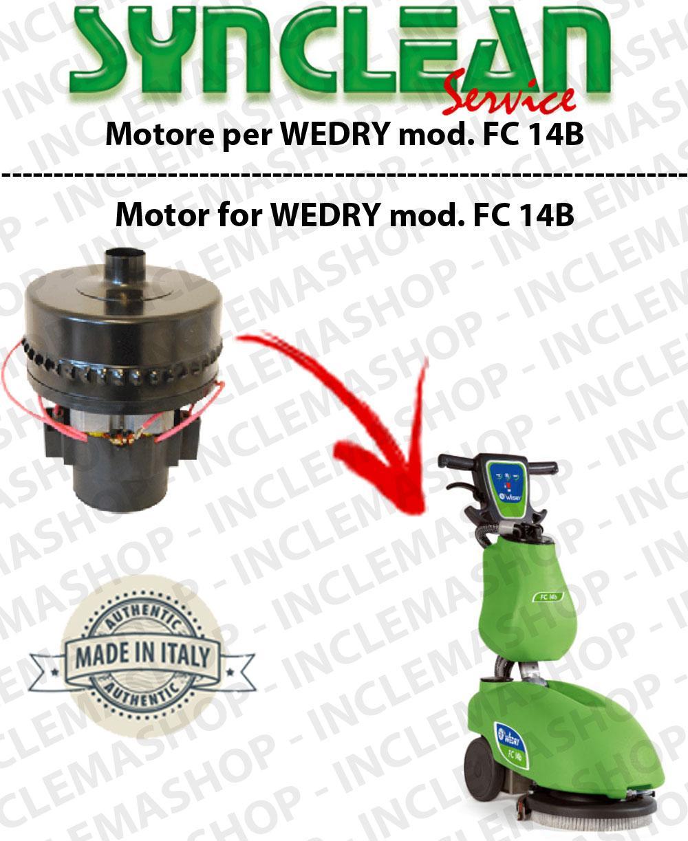 FC 14B Saugmotor SYNCLEAN für Scheuersaugmaschinen WEDRY