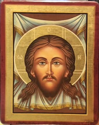 Icona bulgara dipinta del