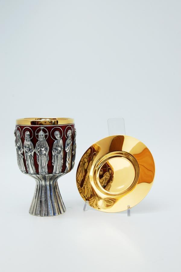 Calice coppa argento con patena MOLACE176