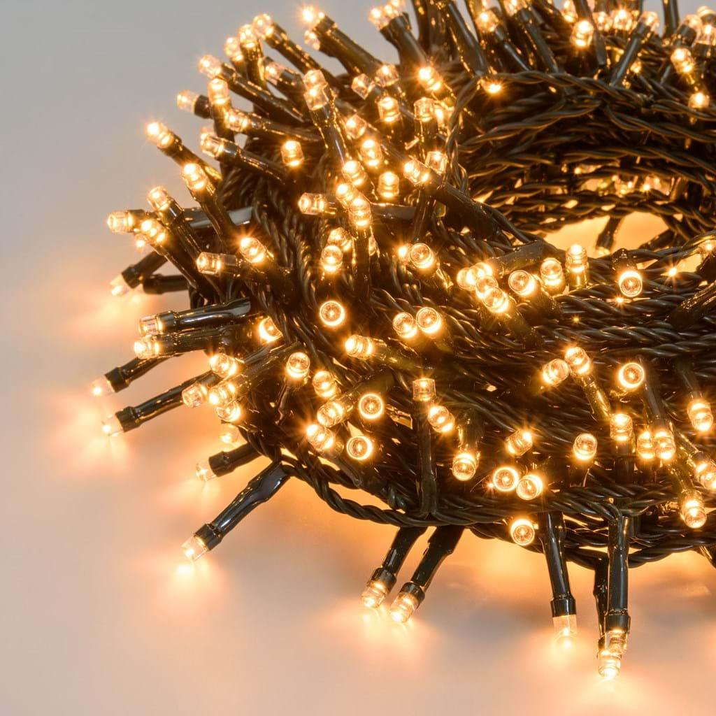 CATENA LUCI DI NATALE 1200 LED TRADITIONAL, LOTTI