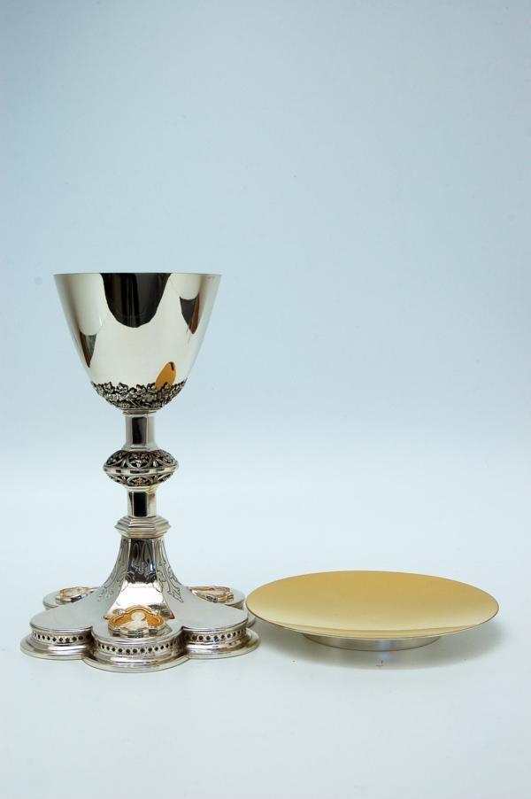 Calice coppa argento con patena MOLACE2480