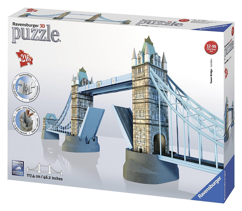 RAVENSBURGER TOWER BRIDGE - LONDON PUZZLE 3D 12559 RAVENSBURGER