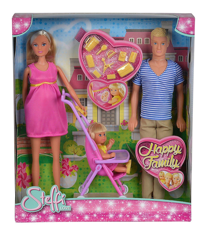 Steffi Love famiglia (Steffi incinta, Kevin, Evi) 105733200 SIMBA NEW