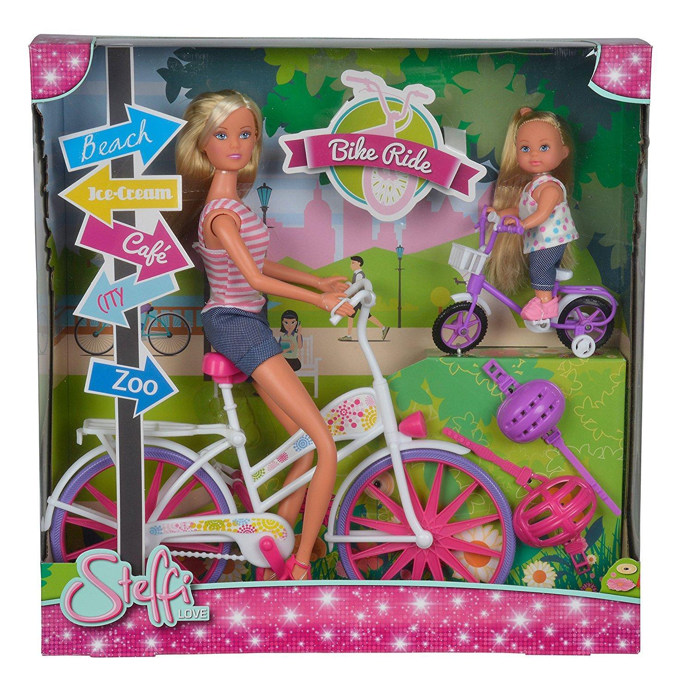 Steffi Love ed Evi in Bici 105733045 SIMBA NEW