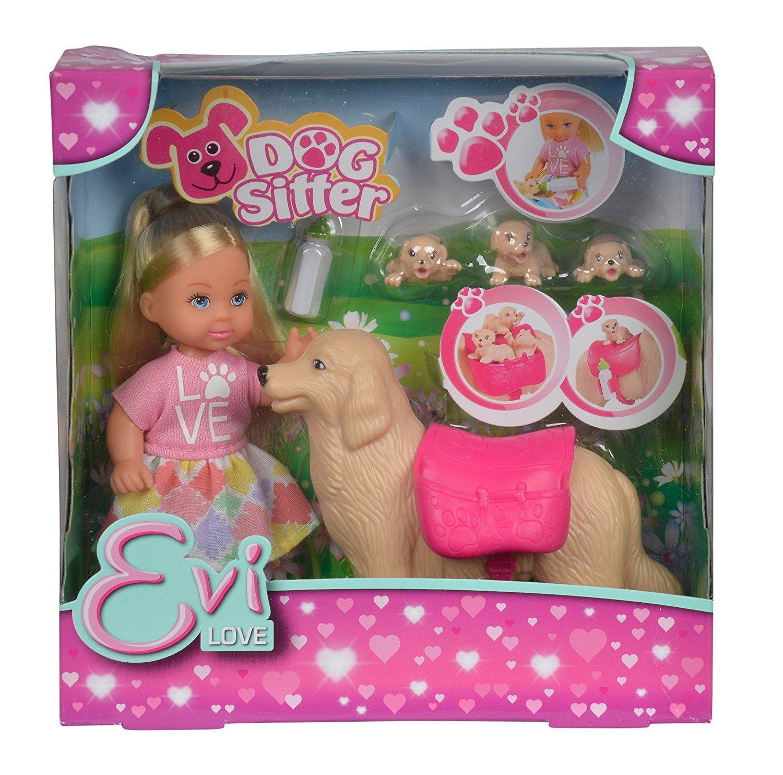 Evi Love dog sitter con cagnolina e i suoi 3 cuccioli 105733072 SIMBA NEW
