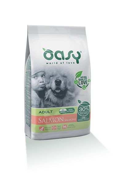 OASY DOG ADULT SALMONE ALL BREEDS 2.5 KG