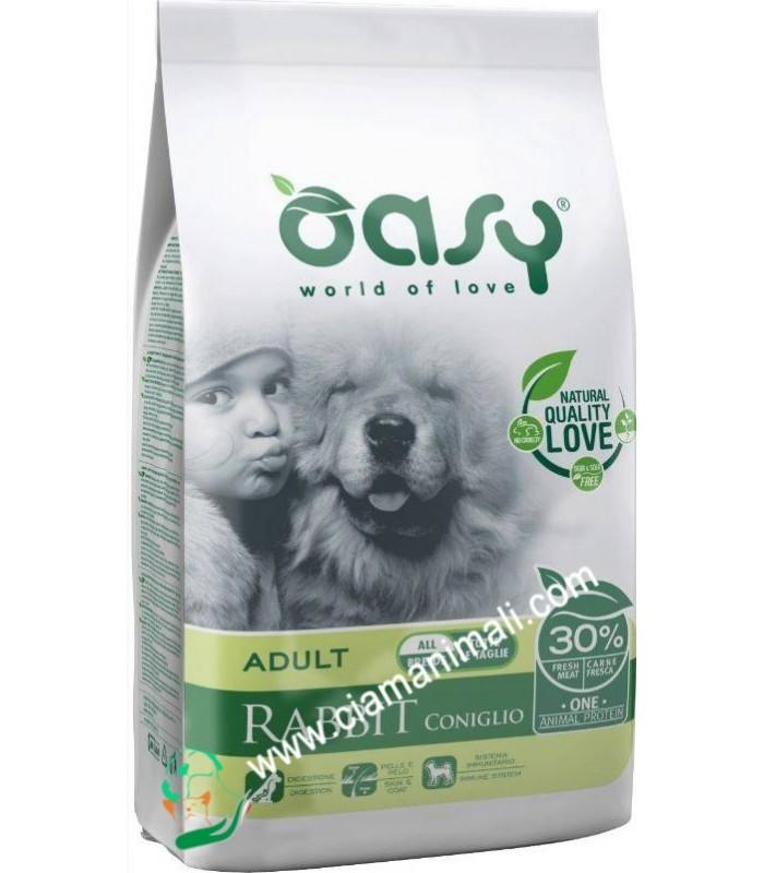 OASY DOG ADULT CONIGLIO ALL BREEDS 2.5 KG