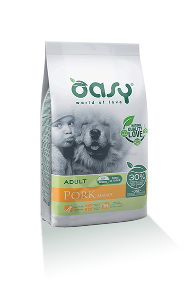 OASY DOG ADULT MAIALE ALL BREEDS 2.5 KG