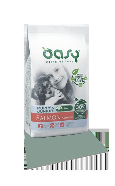 OASY DOG PUPPY MINI SALMONE 2.5 KG