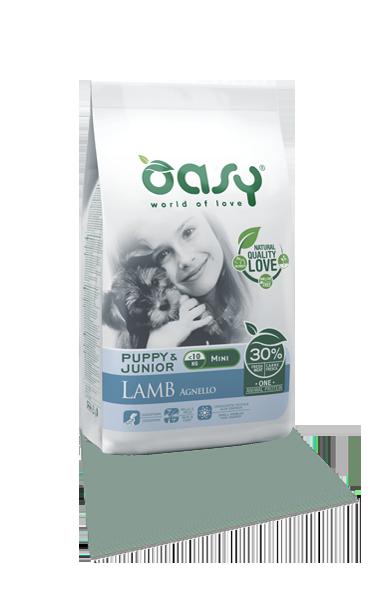 OASY DOG PUPPY MINI AGNELLO 2.5 KG