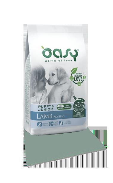 OASY DOG PUPPY AGNELLO 2.5 KG