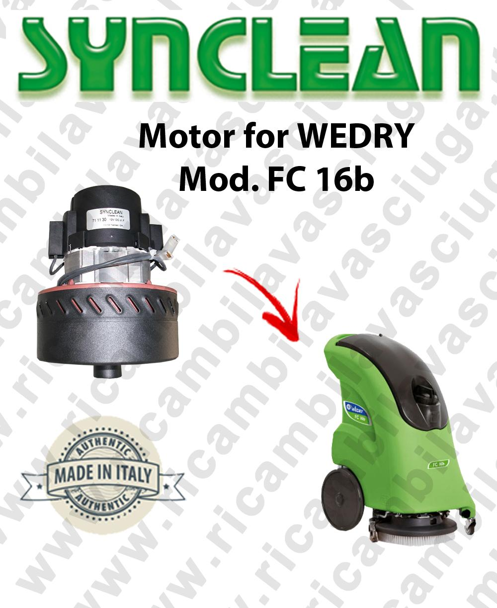 FC 16b moteur aspiration SYN pour autolaveuses WEDRY