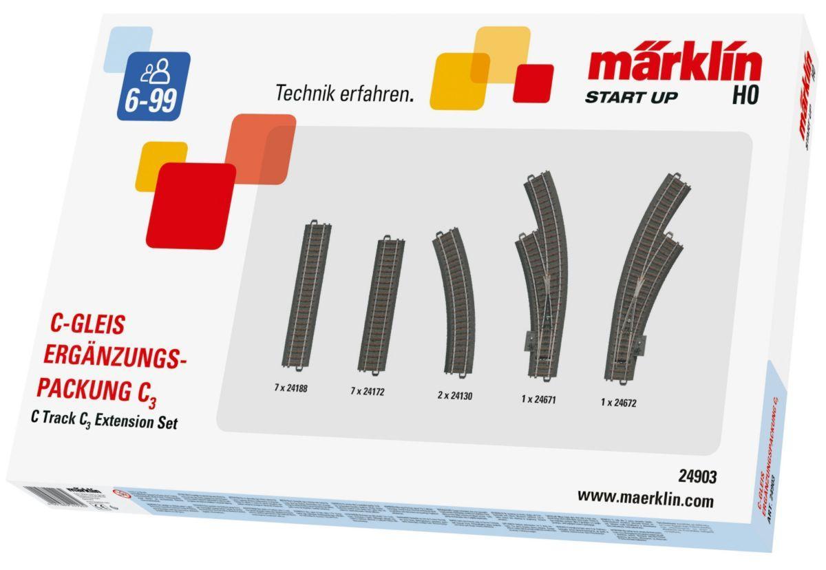 MAERKLIN ESTENSIONI BINARI SET C1 cod. 24900