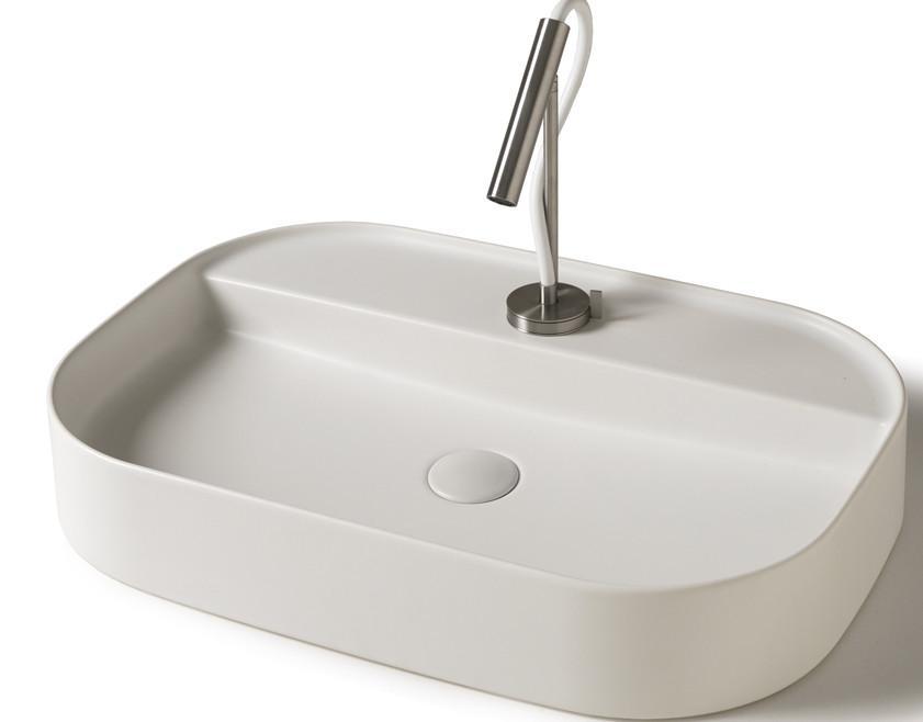 Lavabo da appoggio per il bagno cm 65 Smart b Galassia