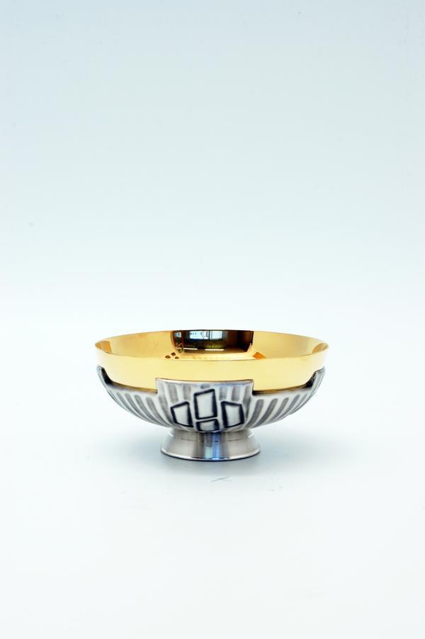 Pisside patena in metallo FRA119/15