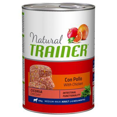 Natural Trainer Adult Medium/Maxi Pollo umido 400 g