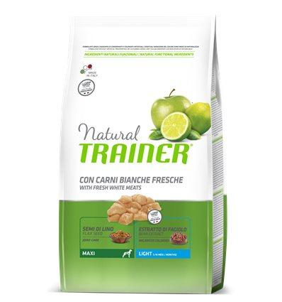 Natural Trainer Adult Maxi Light con carni bianche 3 Kg