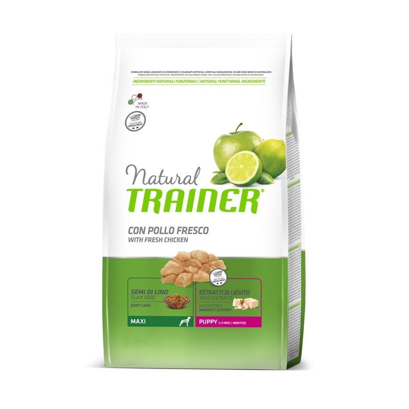 Natural Trainer Puppy Maxi con Pollo 3 kg