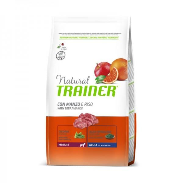 Natural Trainer Adult  Medium con Manzo 3 kg