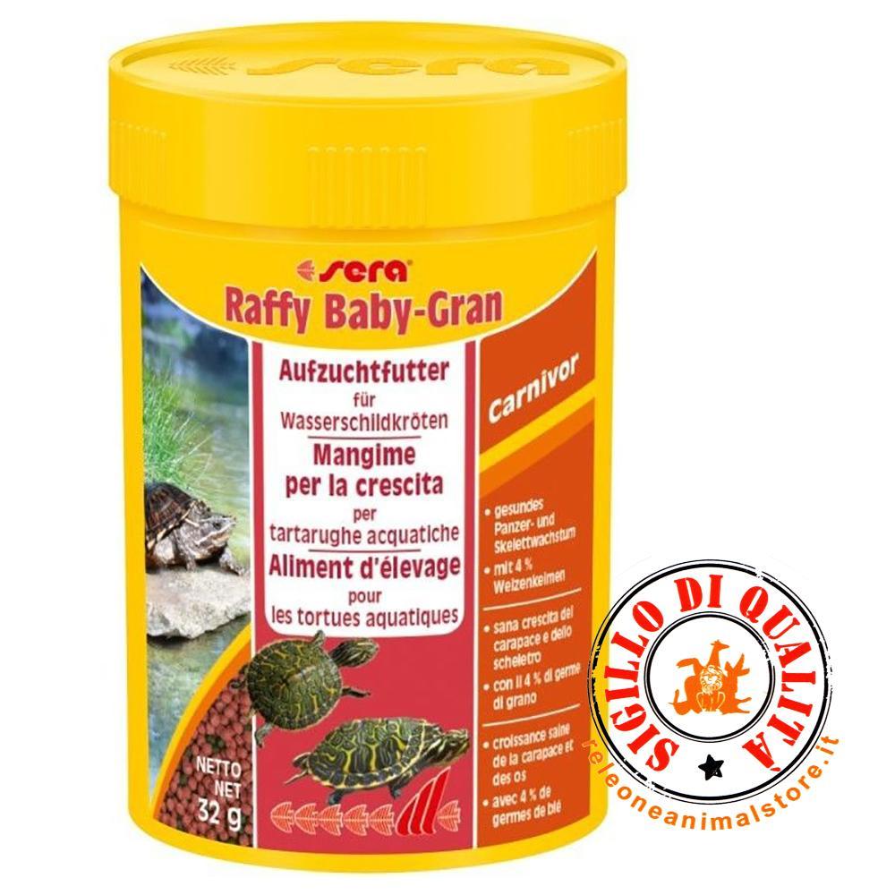 Sera raffy baby gran mangime per tartarughe acquatiche for Mangime tartarughe acqua