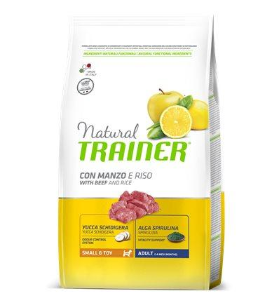 Natural Trainer Adult Small & Toy con  Manzo 800 g