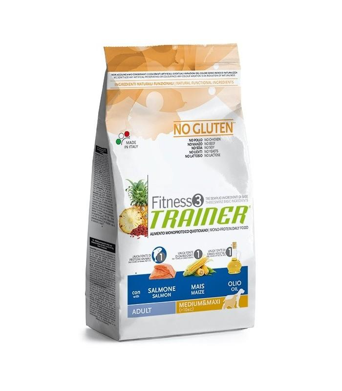 Fitness 3 Adult Medium/Maxi Salmone e riso